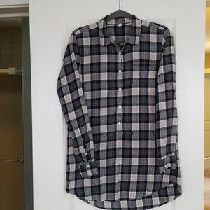 J. Crew women's plaid shirt